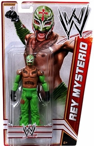 Mattel WWE Wrestling Basic Series 23 Action Figure #61 Rey Mysterio