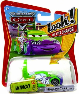 Disney / Pixar CARS Movie 1:55 Die Cast Car with Lenticular Eyes Series 1 Wingo