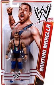 Mattel WWE Wrestling Basic Series 23 Action Figure #64 Santino Marella Cobra!