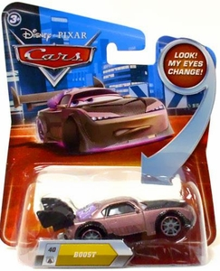 Disney / Pixar CARS Movie 1:55 Die Cast Car with Lenticular Eyes Series 2 Boost