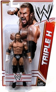 Mattel WWE Wrestling Basic Series 23 Action Figure #65 Triple H