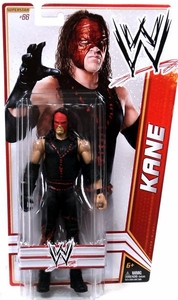 Mattel WWE Wrestling Basic Series 23 Action Figure #66 Kane with Mask BLOWOUT SALE!
