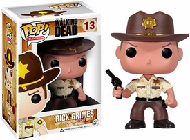Funko POP! Walking Dead Vinyl Figure Sherriff Rick Grimes
