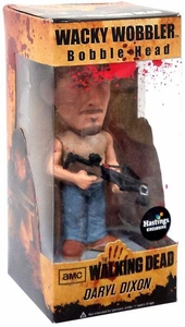 Funko Walking Dead Exclusive Wacky Wobbler Bobble Head Daryl Dixon [Bloody Variant]