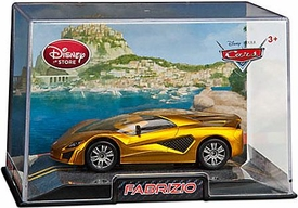 Disney / Pixar CARS 2 Movie Exclusive 1:43 Die Cast Car In Plastic Case Fabrizio