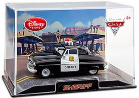 Disney / Pixar CARS 2 Movie Exclusive 1:43 Die Cast Car In Plastic Case Sheriff