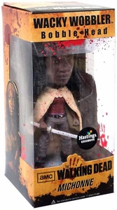 Funko Walking Dead Exclusive Wacky Wobbler Bobble Head Michonne [Bloody Variant]