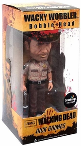 Funko Walking Dead Exclusive Wacky Wobbler Bobble Head Rick Grimes [Bloody Variant]