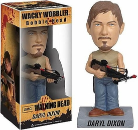 Funko Walking Dead Wacky Wobbler Bobble Head Daryl Dixon