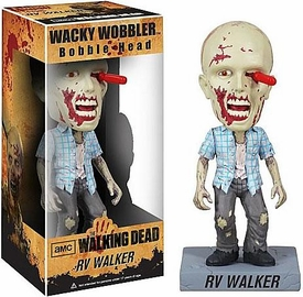 Funko Walking Dead Wacky Wobbler Bobble Head RV Walker Zombie
