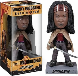Funko Walking Dead Wacky Wobbler Bobble Head Michonne