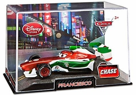 Disney / Pixar CARS 2 Movie Exclusive 1:43 Die Cast Car In Plastic Case Francesco {Metallic} Chase Edition!