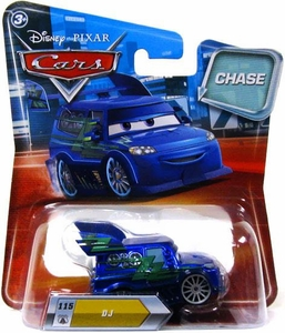 Disney / Pixar CARS Movie 1:55 Die Cast Car DJ [Metallic Finish] Chase Piece!