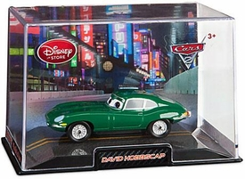 Disney / Pixar CARS 2 Movie Exclusive 1:43 Die Cast Car In Plastic Case David Hobbscap
