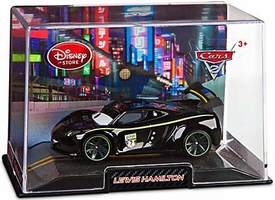 Disney / Pixar CARS 2 Movie Exclusive 1:43 Die Cast Car In Plastic Case Lewis Hamilton
