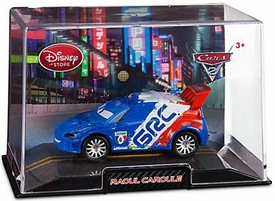 Disney / Pixar CARS 2 Movie Exclusive 1:43 Die Cast Car In Plastic Case Raoul Caroule
