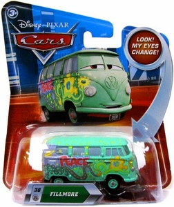 Disney / Pixar CARS Movie 1:55 Die Cast Car with Lenticular Eyes Series 2 Fillmore