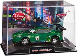 Disney / Pixar CARS 2 Movie Exclusive 1:43 Die Cast Car In Plastic Case Nigel Gearsley