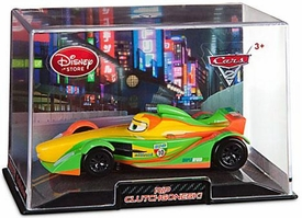 Disney / Pixar CARS 2 Movie Exclusive 1:43 Die Cast Car In Plastic Case Rip Clutchgoneski [Original City Background]