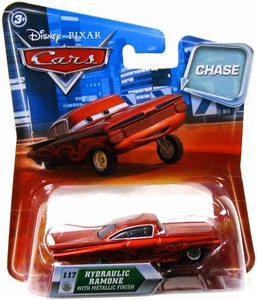 Disney / Pixar CARS Movie 1:55 Die Cast Car with Lenticular Eyes Series 2 Hydraulic Ramone [Metallic Finish] Chase Piece!