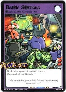 Neopets Trading Card Game Return of Dr. Sloth Common Single #78 Battle Stations
