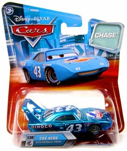 Disney / Pixar CARS Movie 1:55 Die Cast Car with Lenticular Eyes Series 2 King [Metallic Finish] Chase Piece!