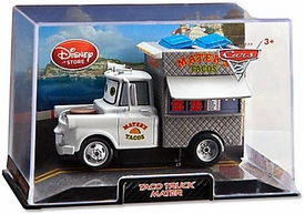 Disney / Pixar CARS 2 Movie Exclusive 1:43 Die Cast Car In Plastic Case Taco Truck Mater