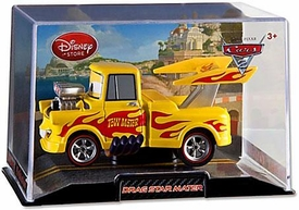 Disney / Pixar CARS 2 Movie Exclusive 1:43 Die Cast Car In Plastic Case Drag Star Mater