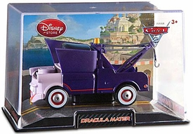Disney / Pixar CARS 2 Movie Exclusive 1:43 Die Cast Car In Plastic Case Dracula Mater