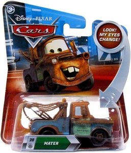 Disney / Pixar CARS Movie 1:55 Die Cast Car with Lenticular Eyes Series 2 Mater