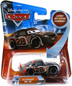 Disney / Pixar CARS Movie 1:55 Die Cast Car with Lenticular Eyes Series 2 Nitroade