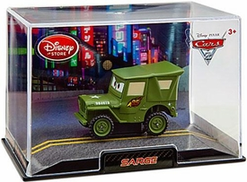 Disney / Pixar CARS 2 Movie Exclusive 1:43 Die Cast Car In Plastic Case Sarge
