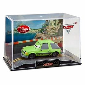 Disney / Pixar CARS 2 Movie Exclusive 1:43 Die Cast Car In Plastic Case Acer