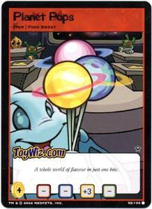 Neopets Trading Card Game Return of Dr. Sloth Common Single #92 Planet Pops