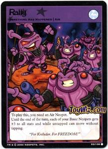 Neopets Trading Card Game Return of Dr. Sloth Common Single #93 Rally