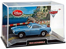 Disney / Pixar CARS 2 Movie Exclusive 1:43 Die Cast Car In Plastic Case Finn McMissile