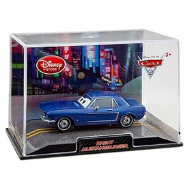 Disney / Pixar CARS 2 Movie Exclusive 1:43 Die Cast Car In Plastic Case Brent Mustangburger