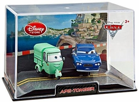 Disney / Pixar CARS 2 Movie Exclusive 1:43 Die Cast Car In Plastic Case Ape [Green] & Tomber