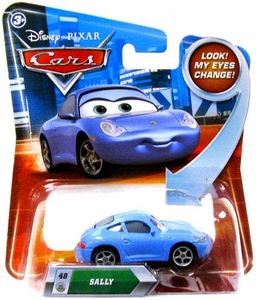Disney / Pixar CARS Movie 1:55 Die Cast Car with Lenticular Eyes Series 2 Sally