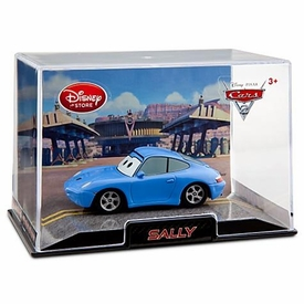 Disney / Pixar CARS 2 Movie Exclusive 1:43 Die Cast Car In Plastic Case Sally