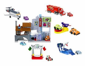 Disney / Pixar CARS 2 Movie Imaginext Exclusive Race Around the World Character Playset