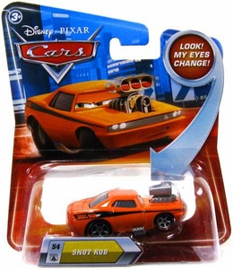 Disney / Pixar CARS Movie 1:55 Die Cast Car with Lenticular Eyes Series 2 Snot Rod