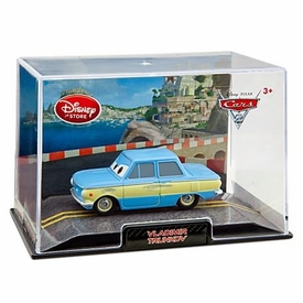 Disney / Pixar CARS 2 Movie Exclusive 1:43 Die Cast Car In Plastic Case Vladimir Trunkov