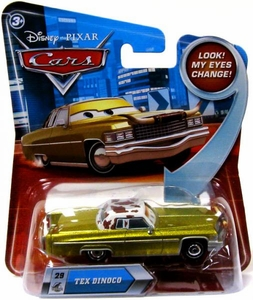 Disney / Pixar CARS Movie 1:55 Die Cast Car with Lenticular Eyes Series 2 Tex Dinoco