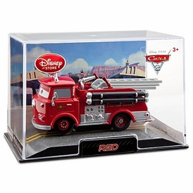 Disney / Pixar CARS 2 Movie Exclusive 1:43 Die Cast Car In Plastic Case Red