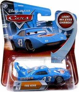 Disney / Pixar CARS Movie 1:55 Die Cast Car with Lenticular Eyes Series 2 The King