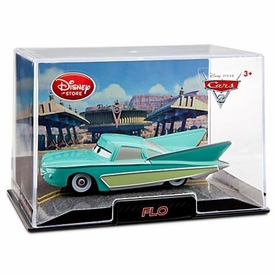 Disney / Pixar CARS 2 Movie Exclusive 1:43 Die Cast Car In Plastic Case Flo