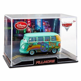 Disney / Pixar CARS 2 Movie Exclusive 1:43 Die Cast Car In Plastic Case Fillmore