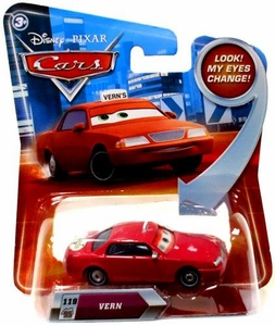Disney / Pixar CARS Movie 1:55 Die Cast Car with Lenticular Eyes Series 2 Vern