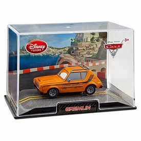 Disney / Pixar CARS 2 Movie Exclusive 1:43 Die Cast Car In Plastic Case Gremlin